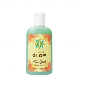 face wash acne glow+ clinic malang